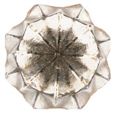 Rustic Faceted Glass Knob