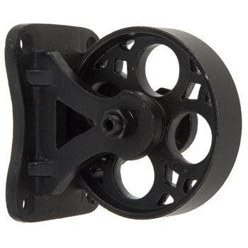 Antique Black Metal Caster Wheel - Small