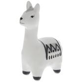 White & Gray Llama