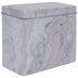 Pink, Beige & Cream Marble Tin Box - Large