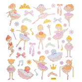 Ballerina Foil Stickers