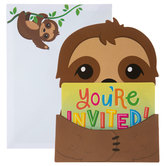 You're Invited Sloth Invitations