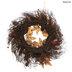 Glitter Pumpkin & Lotus Pod Candle Ring