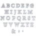Uppercase Alphabet Dies