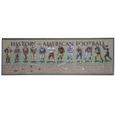 History Of Football Canvas Wall Decor
