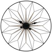 Minimal Metal Wall Clock