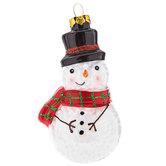 Hollow Snowman Ornament