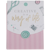 Creative Is A Way Of Life Memo Pad