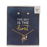 The Sky Is The Limit Necklace & Earrings