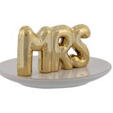 Mrs Balloons Round Jewelry Dish