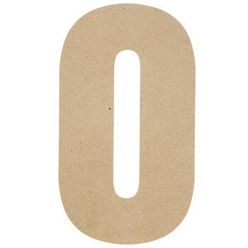 """Wood Letter O - 13"""""""