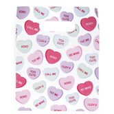 Conversation Hearts Zipper Bags
