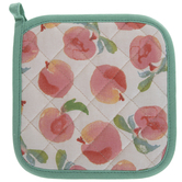 Watercolor Peaches Pot Holder