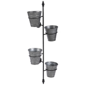 Galvanized Buckets Metal Wall Container