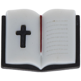 Bible With Cross Shank Buttons