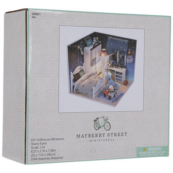 Miniature Space Themed Bedroom Kit