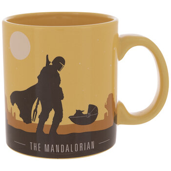 Star Wars The Mandalorian Sunset Mug