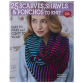 25 Scarves, Shawls & Ponchos To Knit