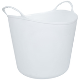 White Container With Handles - Extra Large