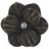 Antique Brass Metal Flower Knob With Rhinestone
