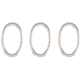 Oval Jump Rings - 8mm x 13mm