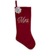 Red Mrs Stocking