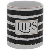 Lips Striped Pot