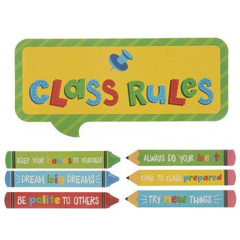 Classroom Rules Cutouts