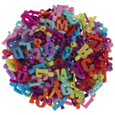 Assorted Plastic Alphabet Charms