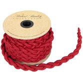 """Dark Red Braided Rope - 5/8"""""""