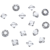 Crystal Faceted Glass Stones - 3mm