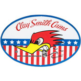 Clay Smith Cams Metal Sign
