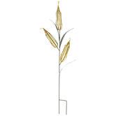 Corn Stalk Metal Garden Stake
