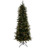 Slim Arizona Fir Pre-Lit Christmas Tree - 7 1/2'