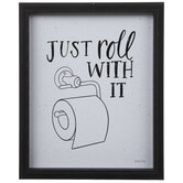 Just Roll With It Wood Wall Decor