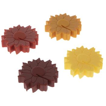 Sunflower Silicone Stemware Charms