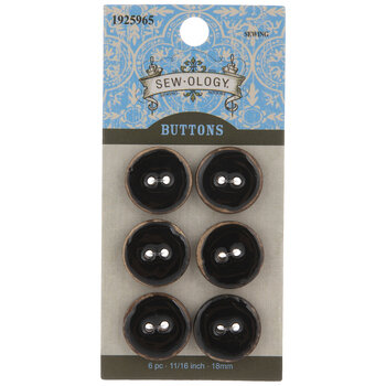 Coconut Round Buttons
