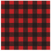 "Red & Black Buffalo Check Scrapbook Paper - 12"" x 12"""