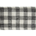 Black & White Buffalo Check Burlap Ribbon - 5 1/2
