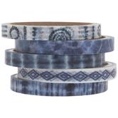 Blue Tie-Dye Washi Tape