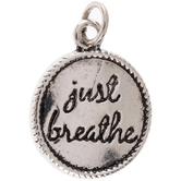 Just Breathe Charm