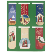 Christmas Scripture Magnetic Bookmarks