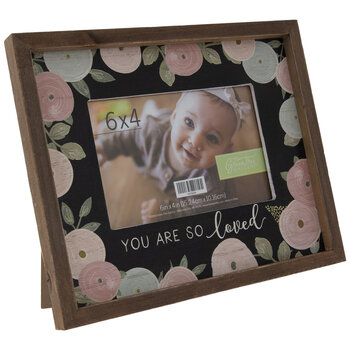 """You Are So Loved Wood Frame - 6"""" x 4"""""""