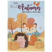 Hello Autumn Jumbo Coloring & Activity Book
