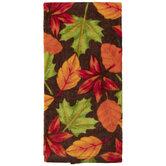 Autumn Leaves Kitchen Towel