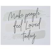 Make People Feel Loved Wood Wall Decor