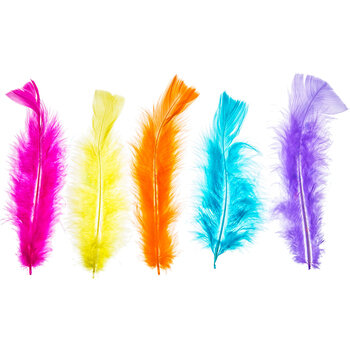 Hearts Mix Feather Fluff
