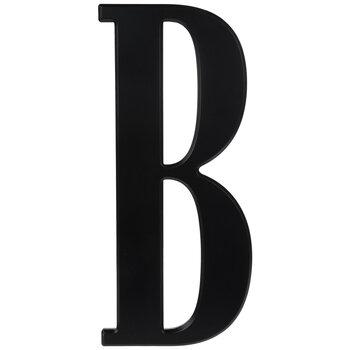 Black Letter Wood Wall Decor - B