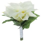White True Touch Calla Lily Bouquet