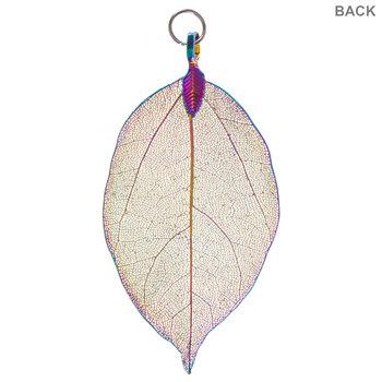 Rainbow Leaf Pendant
